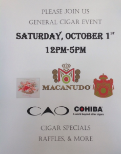 cigars, event