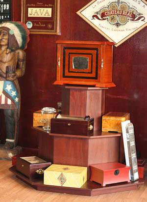 cigar boxes, humidors