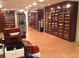 New Castle cigar shop